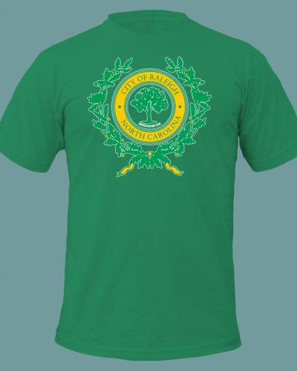 City of Raleigh T-Shirt in Green