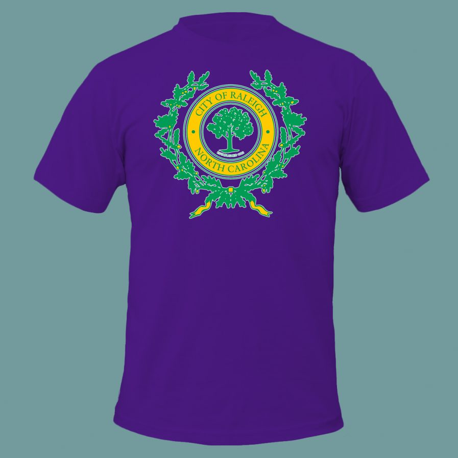 City of Raleigh T-Shirt in Purple