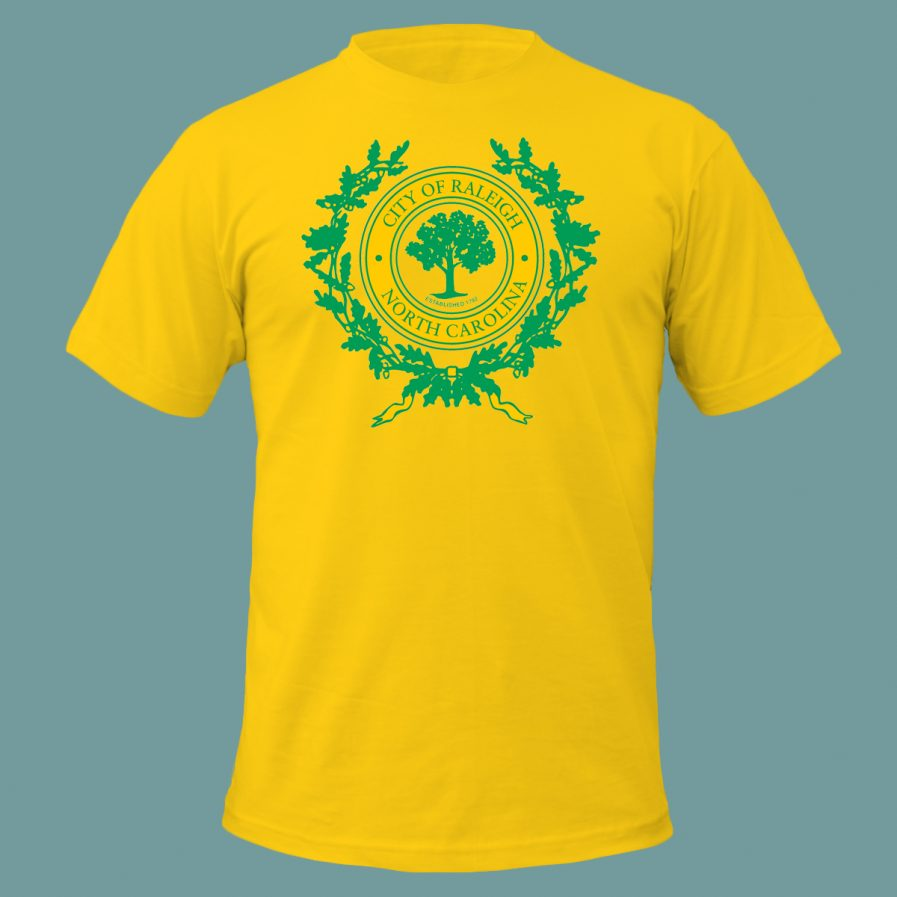 City of Raleigh T-Shirt in Yellow