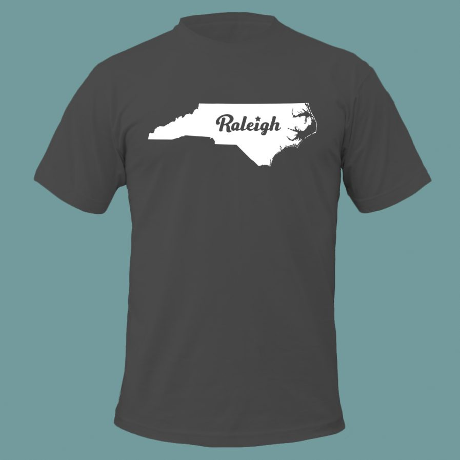 Raleigh Star T-Shirt Gray Color