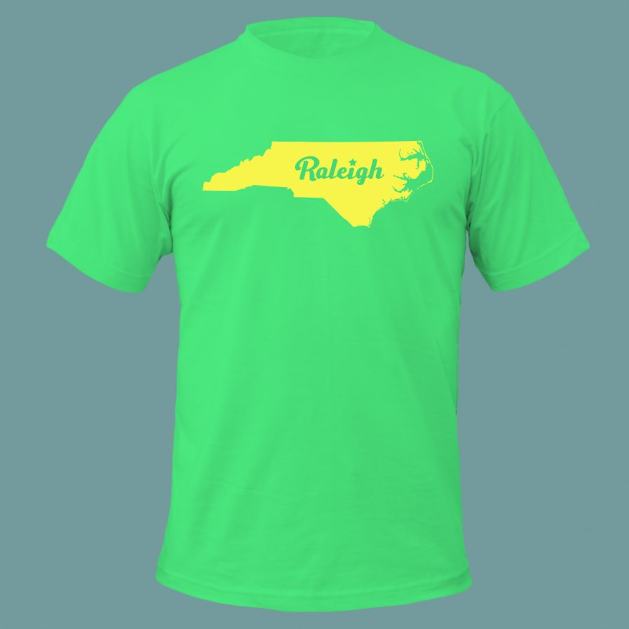 Raleigh Star T-Shirt Green Color
