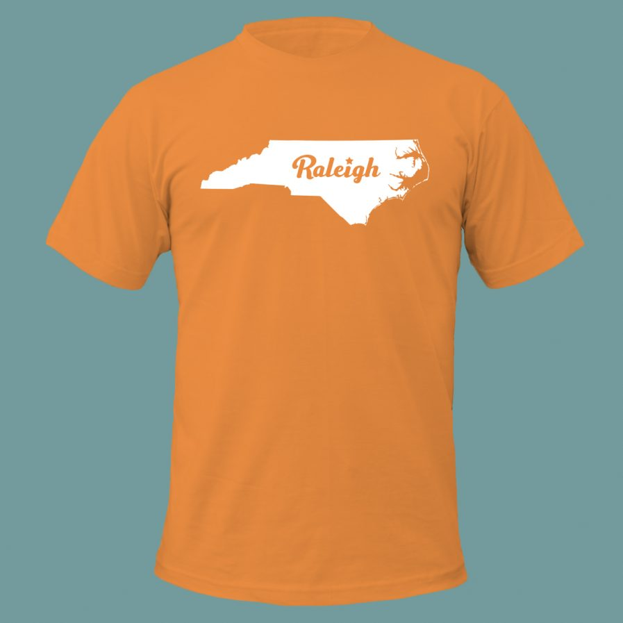 Raleigh Star T-Shirt Orange Color
