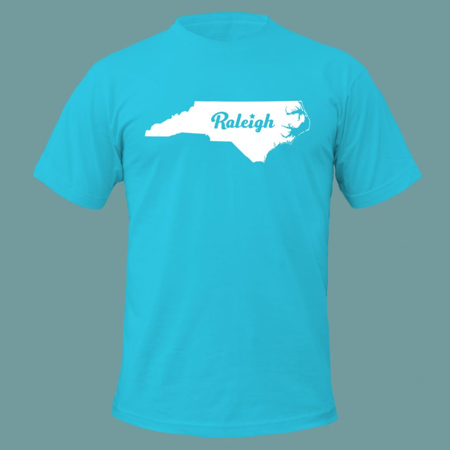 Raleigh Star T-Shirt Sky Blue Color