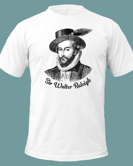 Sir Walter Raleigh T-Shirt White